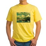 Ely Wilderness Scene Yellow T-Shirt