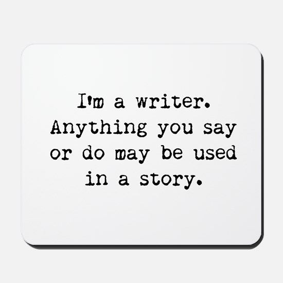 Writer's Miranda Mousepad