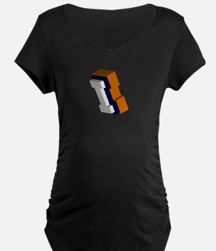 Orange, Blue, and White Box I T-Shirt