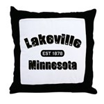 Lakeville Established 1878 Throw Pillow