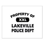 Property of Lakeville Police Dept Small Poster