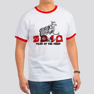 2010 Year of The Tiger Ringer T