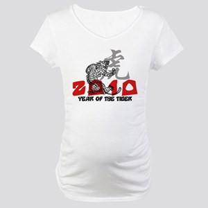 2010 Year of The Tiger Maternity T-Shirt