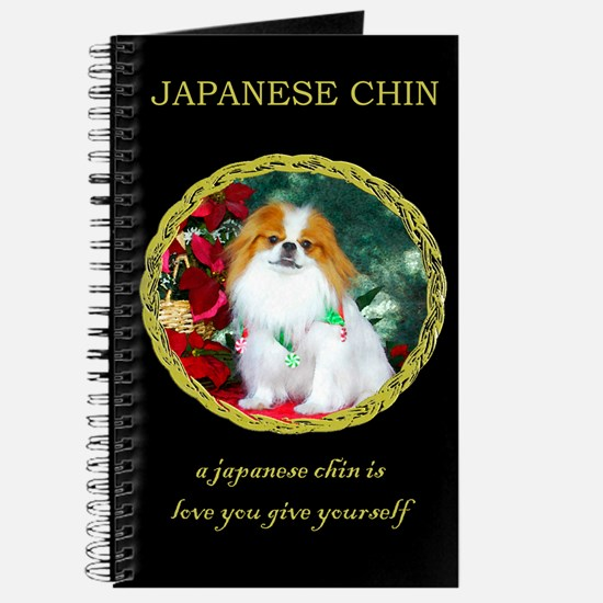 Japanese Chin Christmas Holiday Journal