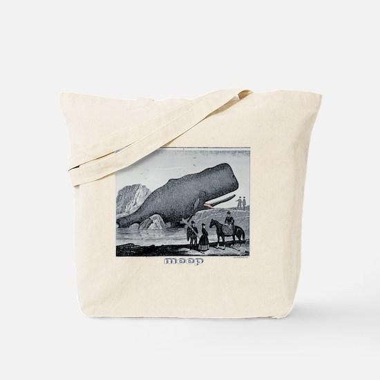 Meep Whale Meep Tote Bag