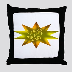 AIRSOFT JUNKY Throw Pillow