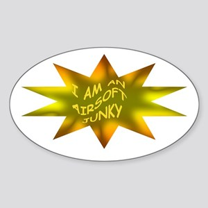 AIRSOFT JUNKY Oval Sticker