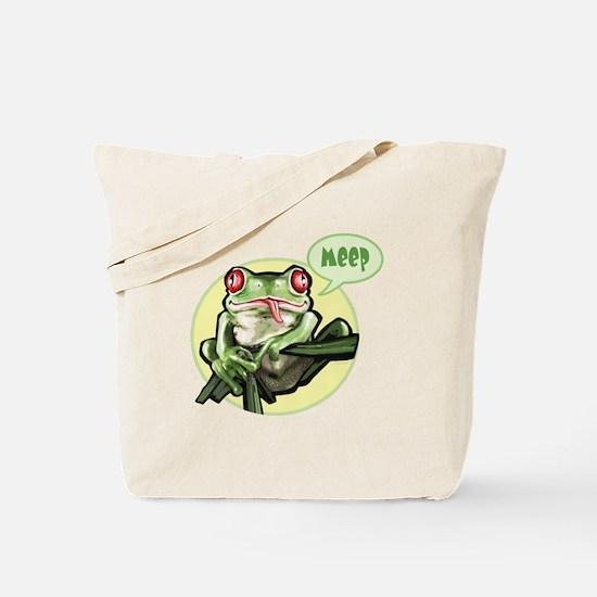 Meep Frog Meep Tote Bag