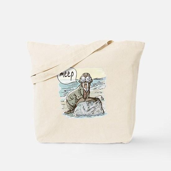 Meep Walrus Meep Tote Bag