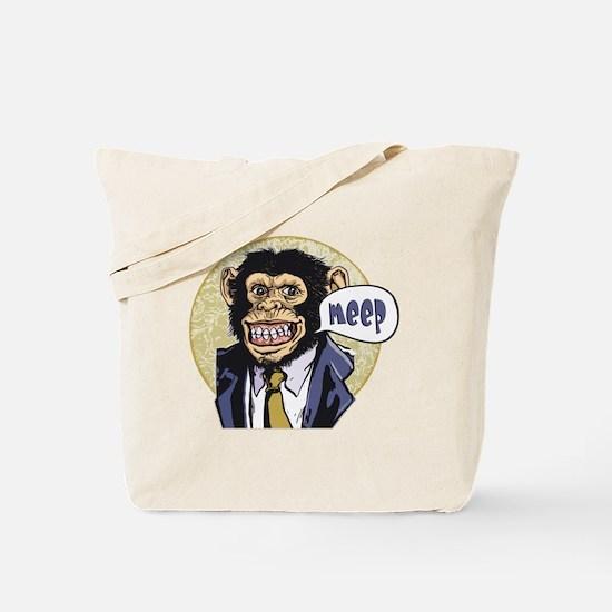 Meep Chimp Meep Tote Bag