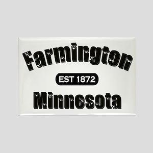 Farmington Established 1872 Rectangle Magnet
