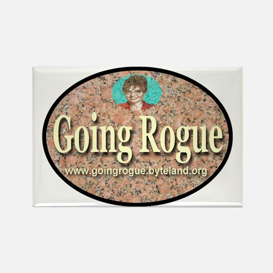 Going Rogue Rectangle Magnet