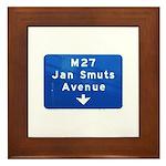 Jan Smuts Avenue Framed Tile