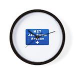 Jan Smuts Avenue Wall Clock