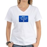Jan Smuts Avenue Women's V-Neck T-Shirt