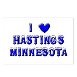 I Love Hastings Winter Postcards (Package of 8)