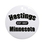 Hastings Established 1857 Ornament (Round)
