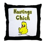 Hastings Chick Throw Pillow