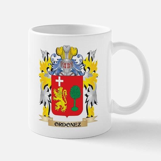 Ordonez Family Crest - Coat of Arms Mugs