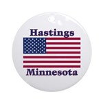 Hastings Flag Ornament (Round)