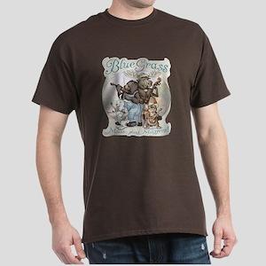 Bluegrass Critter Music Dark T-Shirt