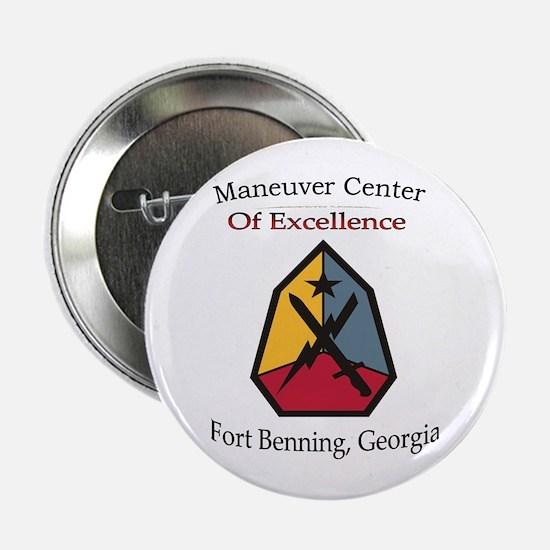 """Maneuver Center of Excellence 2.25"""" Button"""