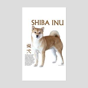 SHIBA INU Rectangle Sticker