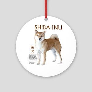 SHIBA INU Ornament (Round)