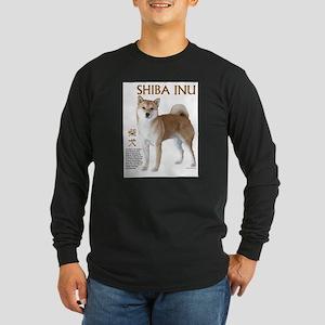 SHIBA INU Long Sleeve Dark T-Shirt