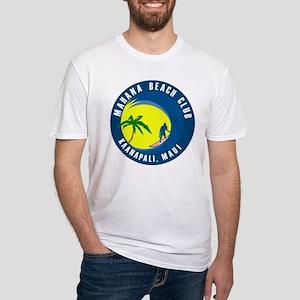 Mahana Beach Club Fitted T-Shirt
