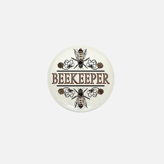 The Beekeeper Mini Button