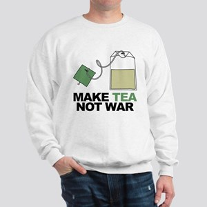 Make Tea Not War Sweatshirt