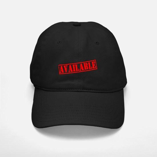 Available Baseball Hat