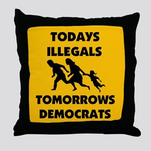 SEND THEM BACK ! ~ Throw Pillow