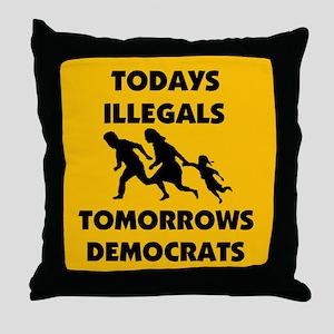 SEND THEM BACK ! ~ Throw Pillow
