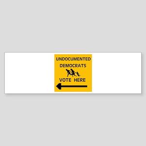 SEND THEM BACK ! ~ Bumper Sticker (10 pk)