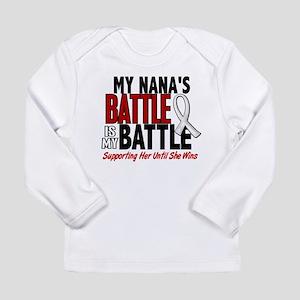 My Battle Too 1 PEARL WHITE (Nana) Long Sleeve T-S