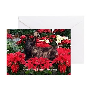 Scottish terrier christmas greeting cards cafepress m4hsunfo