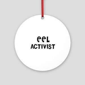 EEL ACTIVIST Ornament (Round)