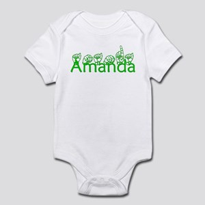 Amanda-grn Infant Bodysuit