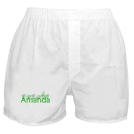 Amanda-grn Boxer Shorts