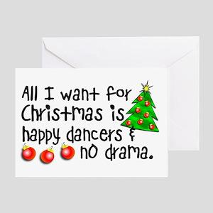 Dance teacher greeting cards cafepress dance teacher christmas card m4hsunfo