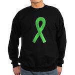 Lime Ribbon Sweatshirt (dark)