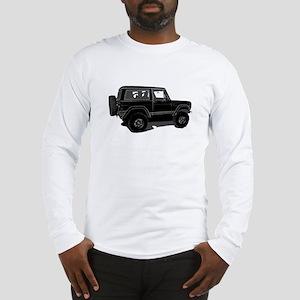 Classic Bronco Black Long Sleeve T-Shirt