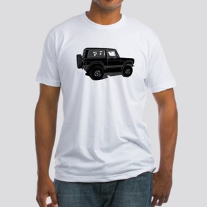 Classic Bronco Black Fitted T-Shirt