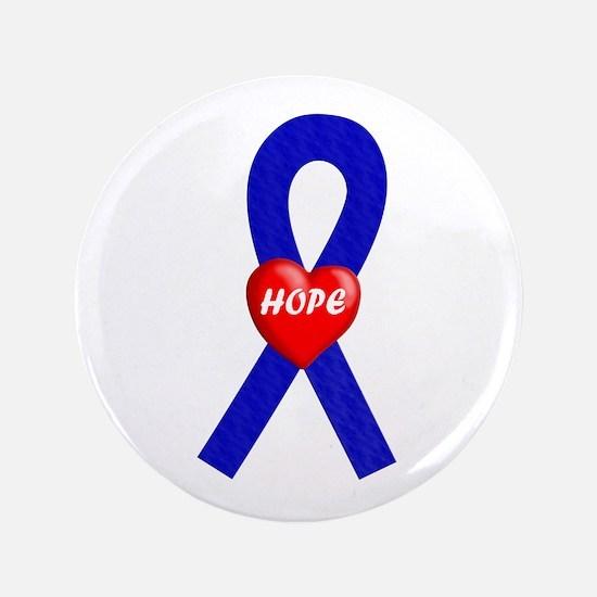 "Blue Hope 3.5"" Button"