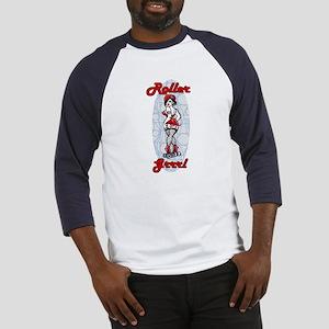 roller grrl Baseball Jersey