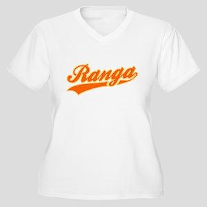 Ranga Women's Plus Size V-Neck T-Shirt