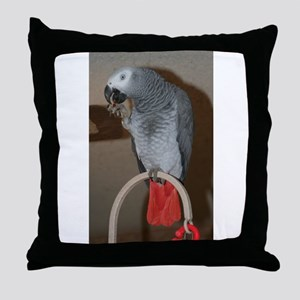 Red Butt Throw Pillow