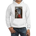 Red Butt Hooded Sweatshirt